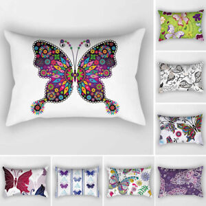 Am-30x50cm-Butterfly-Throw-Pillow-Cushion-Cover-Case-Sofa-Bedroom-Home-Decor-Pr