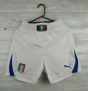 Italy-Italia-shorts-size-small-soccer-football-Puma