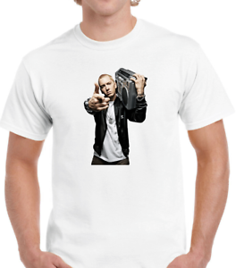 Men/'s Eminem,Marshall Mathers,RAP,Hip Hop,Music,Slim Shady,Retro T-Shirt P227