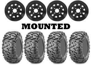 Kit-4-Maxxis-Bighorn-2-0-Tires-25x8-12-25x10-12-on-ITP-Delta-Steel-Black-IRS
