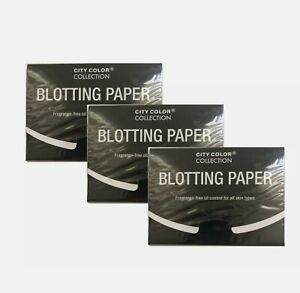 Blotting Papers Fragrance-Free For All Skin Types (3-Packs/50 Sheets Each Pack)