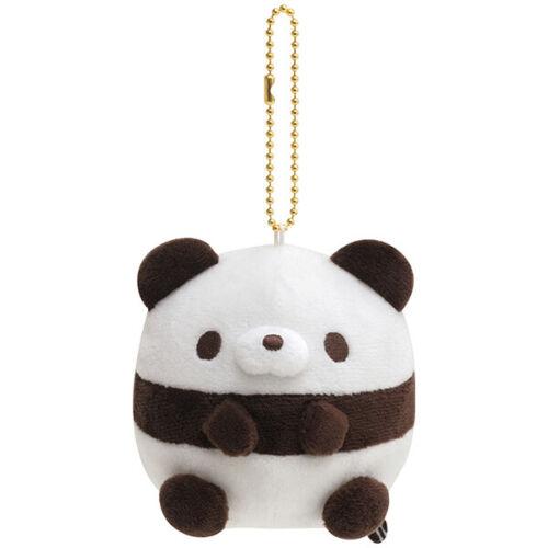 Hamipa Panda Plush Keychain Hamipanoseitai San-X Japan