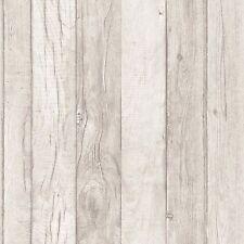 Grandeco Wallpaper-tablón/Panel de Madera Efecto Textura Vinilo-Arena-A17404