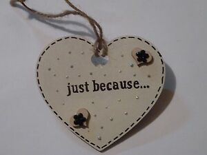 JUST-BECAUSE-PLAQUE-GIFT-SHABBY-CHIC-HANDCRAFTED