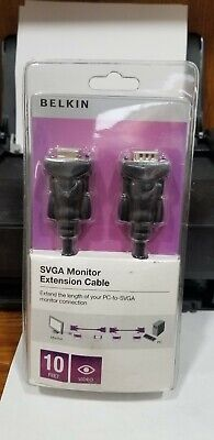 Belkin 6 ft. HDDB15 Connectors Pro Series High-Integrity VGA//SVGA Monitor Cable