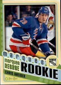 2012-13-O-Pee-Chee-Hockey-585-Chris-Kreider-RC