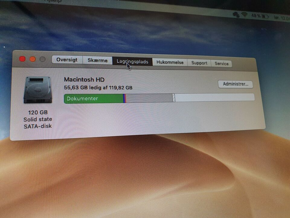 "MacBook Pro, 13"" mid 2012, Core i5 2,5 GHz"