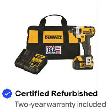 DeWalt DCF809C1R ATOMIC 20V MAX 1/4 in. Impact Driver Kit Certified Refurbished