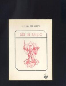 J.J. Van Der Leeuw - Dei in esilio - Edizioni del Graal 1981 R - Italia - J.J. Van Der Leeuw - Dei in esilio - Edizioni del Graal 1981 R - Italia