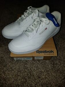 bee620f347 Details about Reebok Men's 12 4E x wide Classic leather white Athletic Shoe  gym memory foam