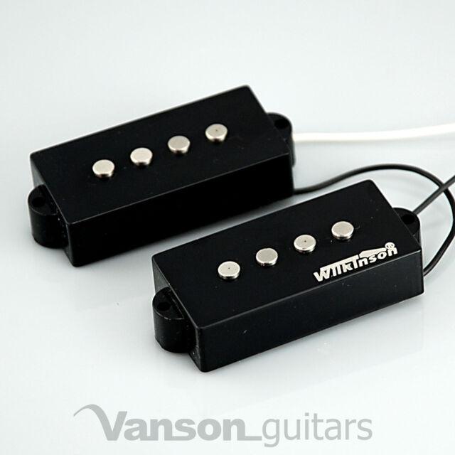 NEW Wilkinson WPB AlNiCo V Bass Pickups for 'PB' type guitars, Precision