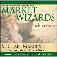Interview With Michael Marcus Market Wizards Audio Cd