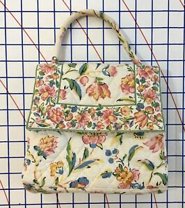 Vera Bradley Harriet Small Satchel Perennials Ebay