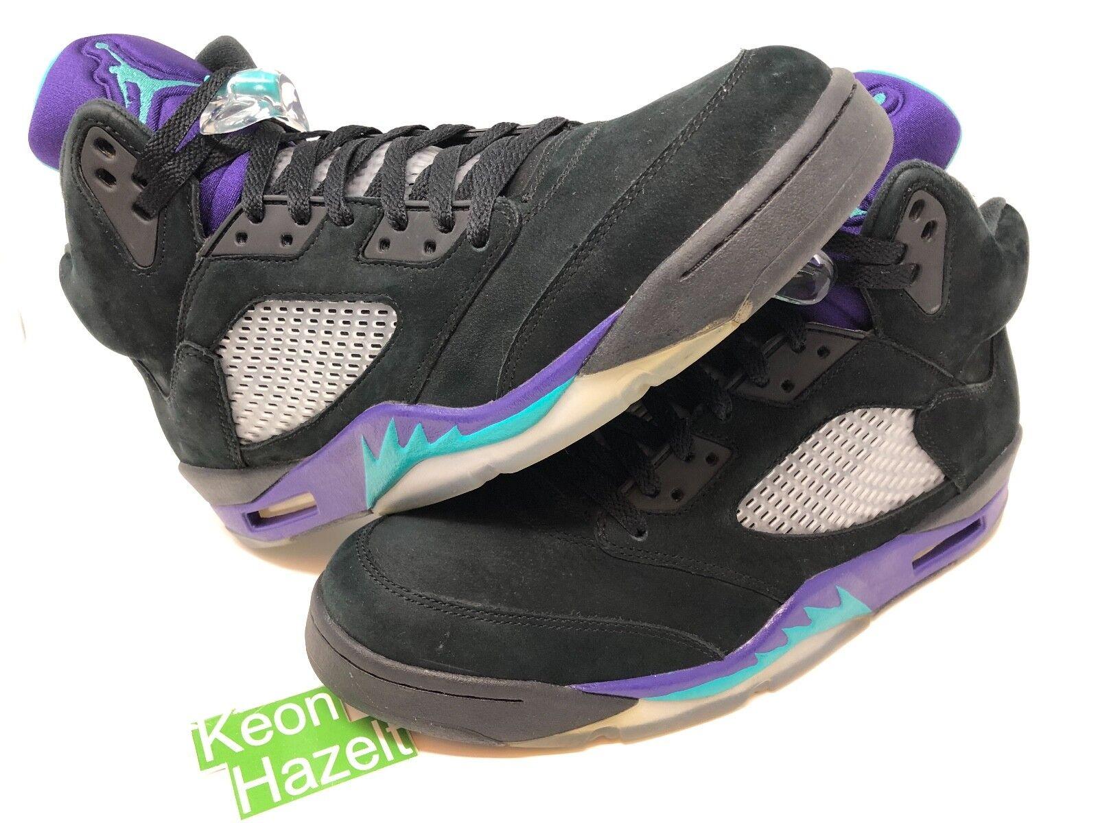 78bae74d Nike Air Jordan 5 V Retro Black Grape Belair Oreo Cement Bred Fear Pack Sz  12