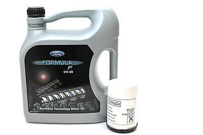 100% QualitäT Ford Formula F 5w-30 Motoröl 14e9ec 5 Liter + Original Ford Ölfilter 1119421