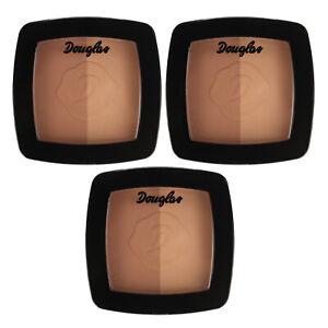 SET 3x Douglas Make-up Cream Blush Brun Brunette MU0234 Teint Rouge 10 g