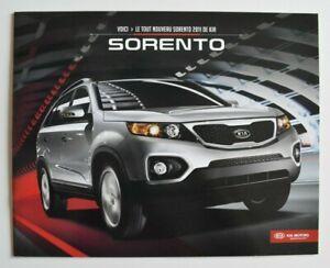 KIA-SORENTO-2011-dealer-brochure-French-Canada