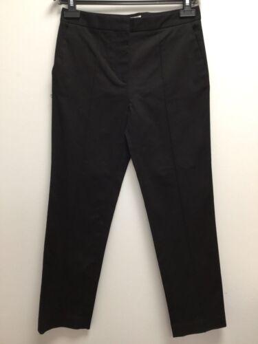 BIMBA Y LOLA Damen Hose Chino Trousers Schwarz Elegant Eng Skinny Business NEU