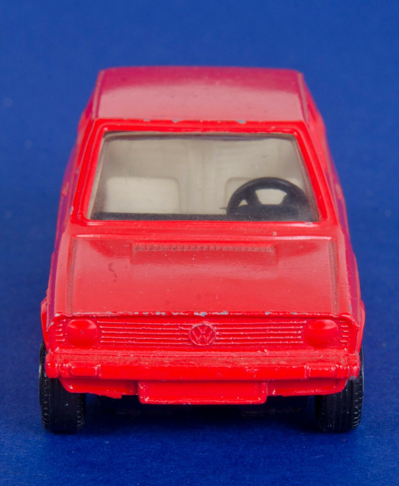 Corgi 289 RARE Colour Trial VW Volkswagen Polo. Red. Loose. 1970's