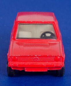 d2b6ae7290 Corgi 289 RARE Colour Trial VW Volkswagen Polo. Red. Loose. 1970's ...