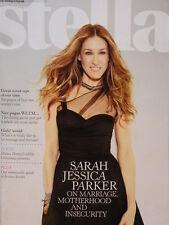 Sarah Jessica  Parker actress Stella magazine December 2011