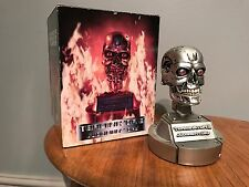 Terminator T800 T2 Head Endoskeleton Bust Figure Statue Toy Collectibles