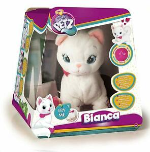 IMC Toys 95847 Club Petz Bianca gattina interattiva Italiana scatola danneggiata