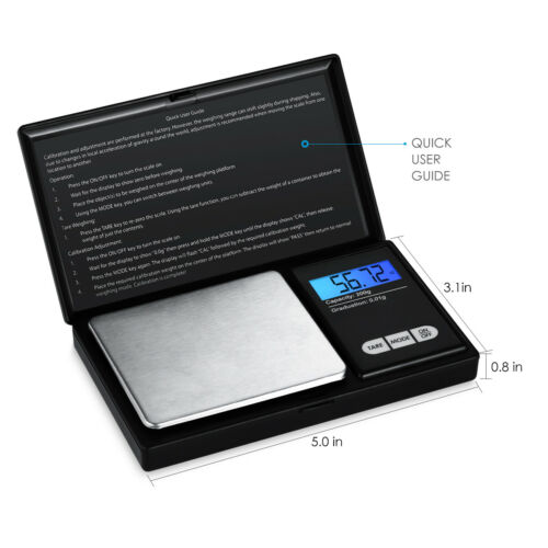 0.01g-100g//200g Digital LCD Balance Kitchen Jewelry Gold Coin Food Scale Weight