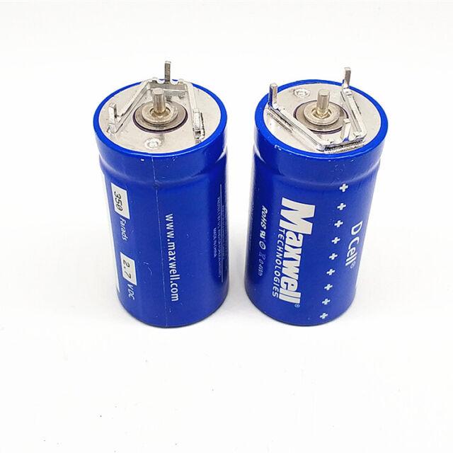 Maxwell D Cell 350 FARAD Capacitor Super Power Boost Cap Bcap0350 Car Audio  USA