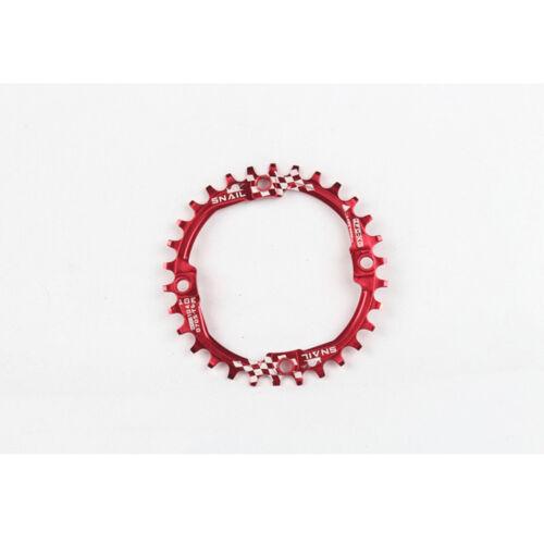 SNAIL 104bcd 30T MTB Bike Chainring Narrow-Wide Single Speed Round Chainwheel