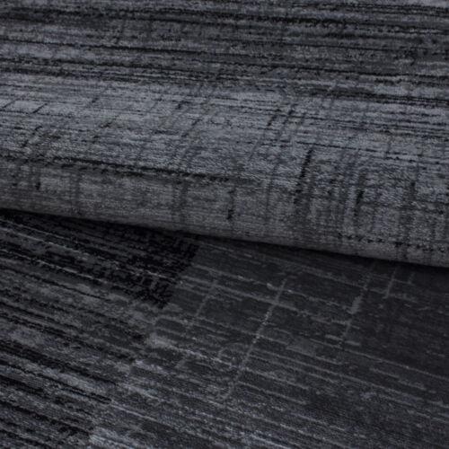Schwarz meliert Bettumrandung Konturschnitt Kurzflor Tep Patchwork Schlafzim