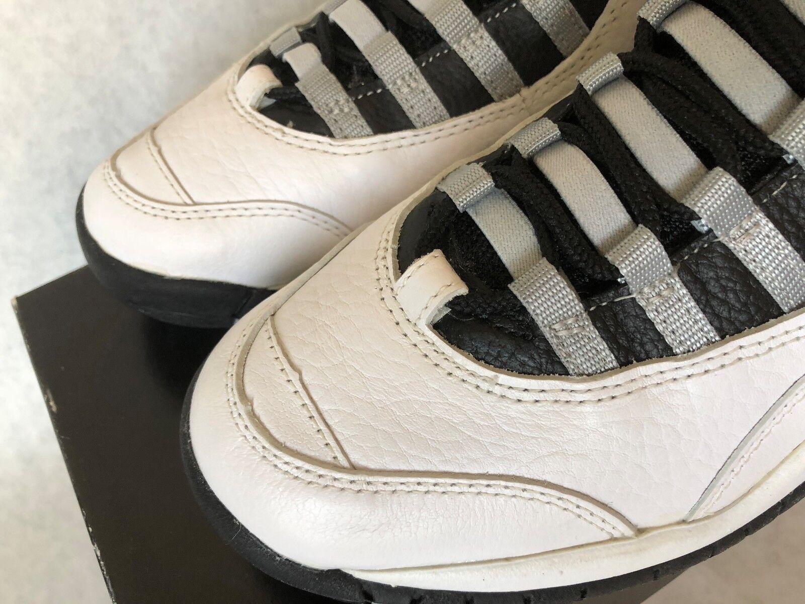 Rare Air Jordan gris acero og x tamaño cosecha 8 caja original nueva cosecha tamaño toe cap! 3592bf