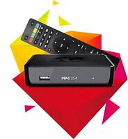 MAG 254 Micro HD IPTV Set Top Box - IPTV Receiver OTT and VoD Latest Original