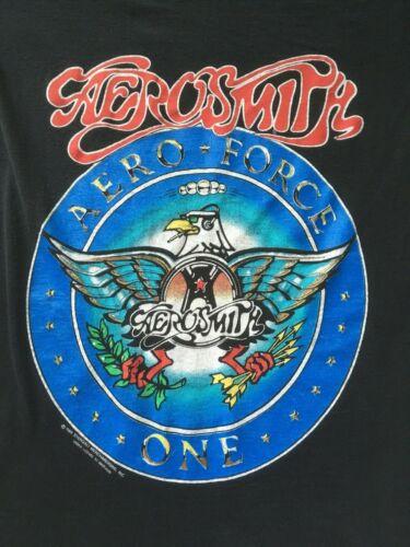 VINTAGE 1989 AEROSMITH AERO FORCE ONE TOUR CONCERT