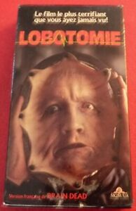 RARE-VHS-French-Movie-Lobotomie-Version-Francaise