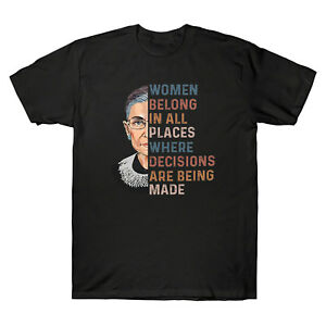 RBG-Ruth-Bader-Ginsburg-Femmes-appartiennent-a-tous-les-endroits-tee-shirt-homme-coton-Tee-Top