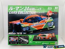 Lotto di 3 Auto Le Mans Spark 1//43 per Hachette Japon: Toyota TS050 2017 01 + 02 + 03 Mazda 787B 1991 Porsche 956 1984