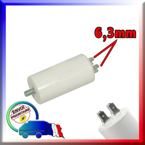 Condensateur de démarrage 7μF 7uF moteur Congélateur