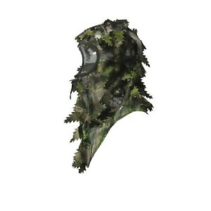 Camo-Face-Mask-3D-Balaclava-Hunting-Camouflage-Woodland-Breathable-Ghillie-Leafy