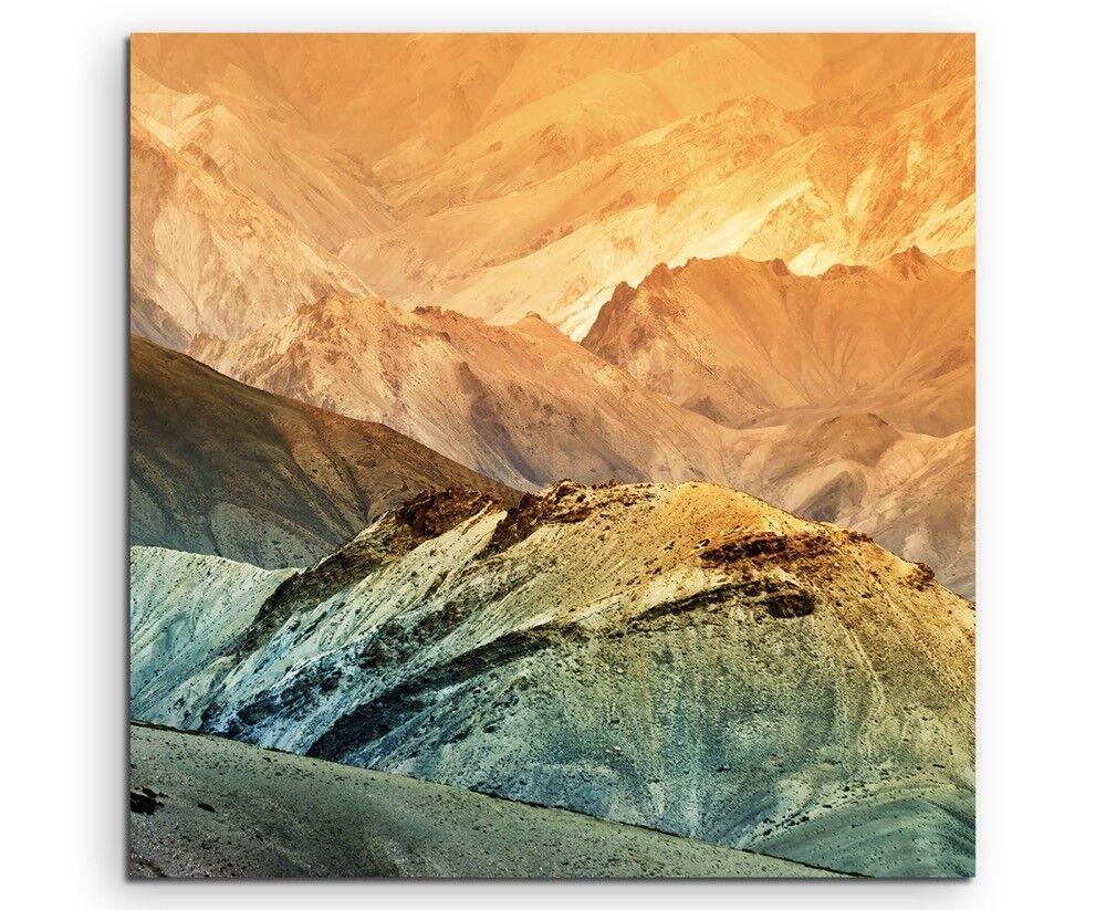 Paesaggio fotografia – – – Coloreeei vivaci PAESAGGIO MONTAGNA, india su TELA 308260