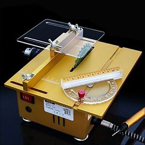 Incredible Details About Mini Table Saw Desktop Saw Diy Woodworking Bench Lathe Cutting Machine 7200Rpm Ibusinesslaw Wood Chair Design Ideas Ibusinesslaworg