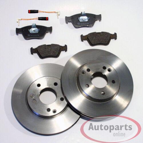 Bremsscheiben Bremsen Bremsbeläge Warnkabel für vorne* Mercedes Clk