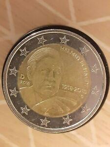 2 Euros 2018 Allemagne Helmut Schmid  d