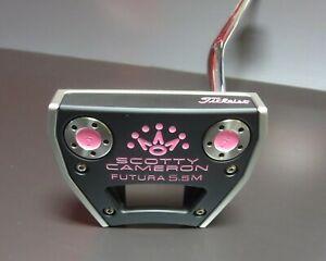 Scotty-Cameron-Custom-Shop-Futura-5-5M-Neon-Pink-Edition-34-034-Free-Ship-w-BIN