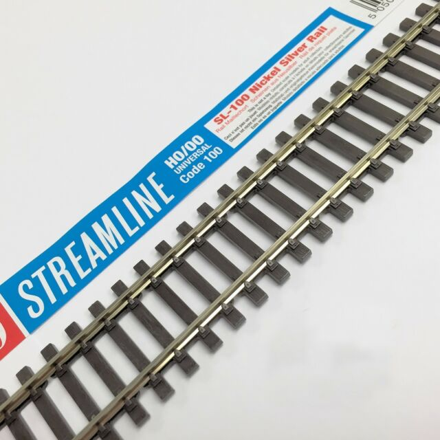 Peco SL-100 Flexi Track x 1 (91.44cm or 1 yard)  Nickel - Wooden Sleeper Type