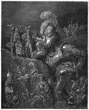 Gustave Dore gigantón Pantagruel 048 A4 Foto impresión