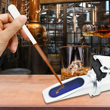 Alcohol 0 80 Test Refractometer Liquor Beverage Meter Measure Instrument