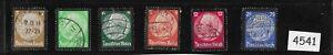 1934 Third Reich stamp set / Hindenburg Memorial / Black border / Complete set