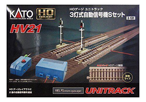 Kato 3-131 Ho Scala Automatico 3 Color Segnale S Set HV21 Giappone Nuovo