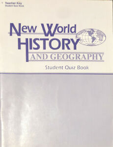 Abeka-New-World-History-amp-Geography-Student-Quiz-Book-Teacher-Key-Grade-6